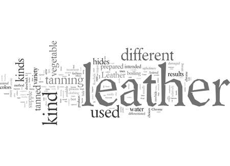 Different Kinds Of Leather