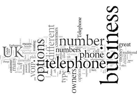 Different Telephone Number Options For UK Business 版權商用圖片 - 132097588