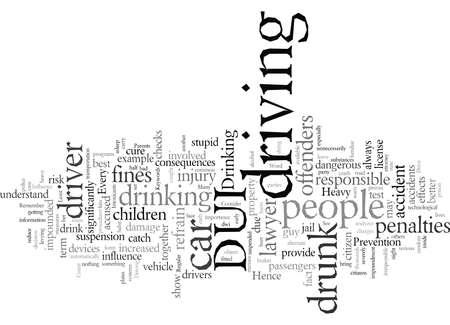 Trinken und fahren Sie nicht, wenn Sie dies zumindest in Betracht ziehen Vektorgrafik