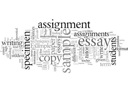 Example Of A Term Paper