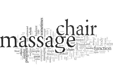 Effective Massage In A Massage Chair