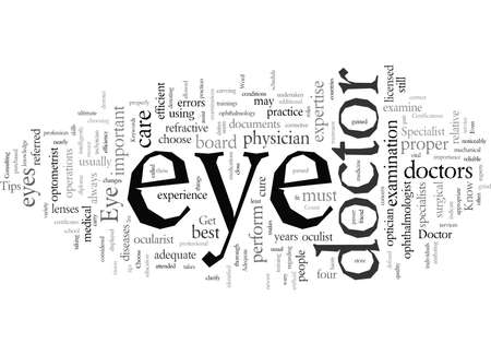 Eye Care Specialist Tips Get to Know Your Eye Doctor