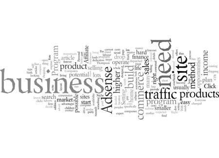 E commerce, vector illustration typography text art