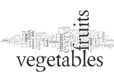 Eat a variety of veggies for a healthier you, vector illustration typography text art