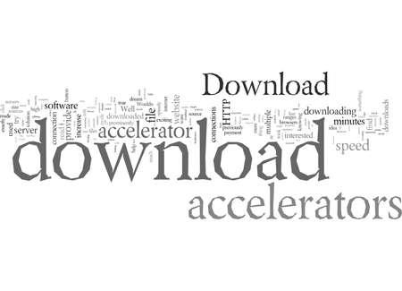 Download Versnellers, typografie tekst kunst vectorillustratie