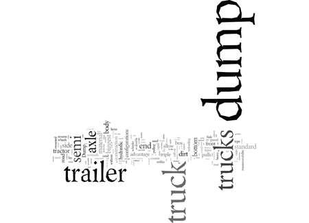 Dump Truck typography text art vector illustration Banco de Imagens - 132451203