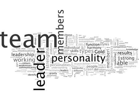 A Good Leader typography text art vector illustration