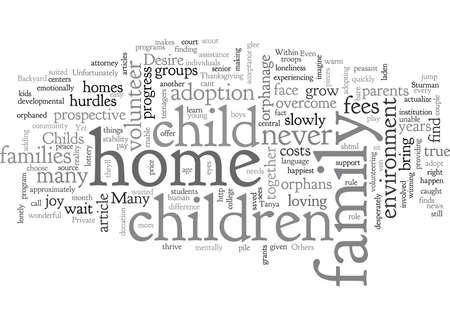 Home typography text art vector illustration