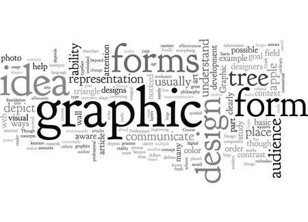 Graphic Philosophy typography text art vector illustration