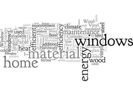 A Guide To Window Hardware typography text art vector illustration