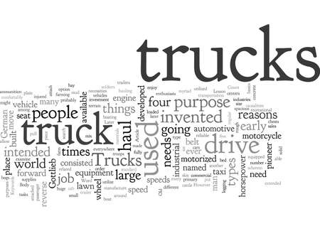 A Lesson About The Good Old Trucks