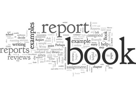 A Helpful Book Report Example