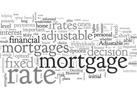 Adjustable Rate Mortgages Good Or Bad