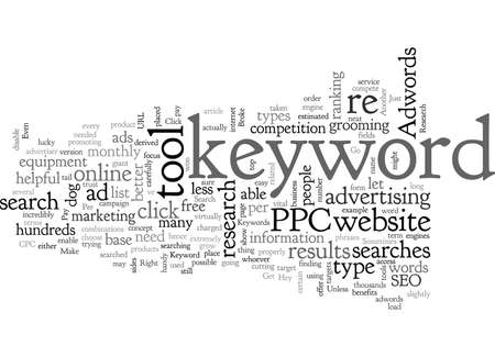 Adwords Keyword Research Get It Right Or Go Broke