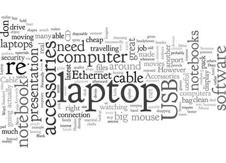 laptop computer typography text art vector illustration