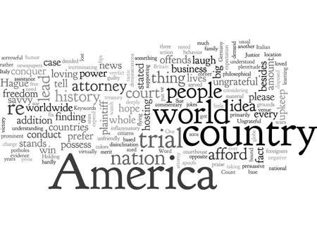 Amerika verklagt den Rest der Welt wegen undankbarem Verhalten