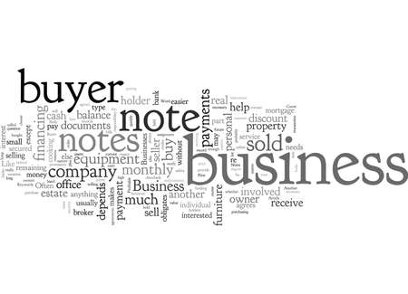 Business Buyer Notes Profitable typography text art vector illustration