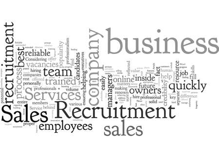 Advantages Offered by Reliable Sales Recruitment Services