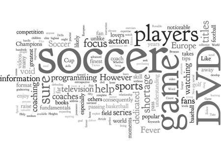 Soccer, typography text art vector illustration