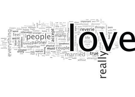 In Love, typography text art vector illustration