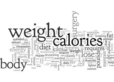 After A Diet, typography text art vector illustration Ilustração Vetorial