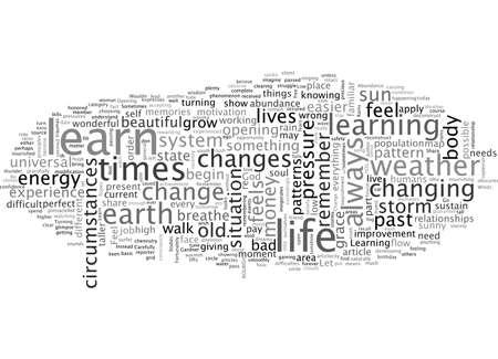 Abundance And The Weather, typography text art vector illustration Ilustração