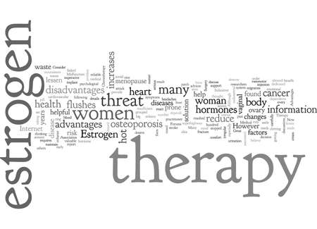 Advantages and Disadvantages of Estrogen Therapy