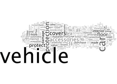Vehicle, typography text art vector illustration