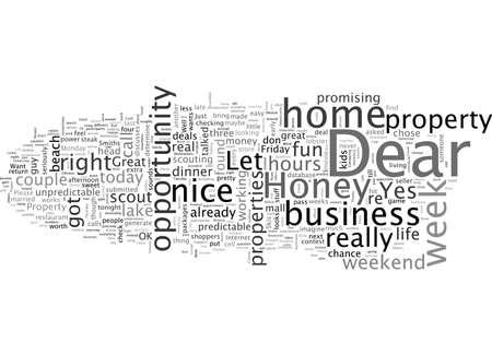 Une opportunité de travail à domicile Une semaine amusante dans la vie d'un scout de propriété