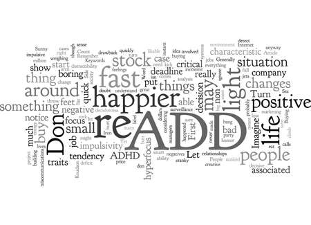 ADD, typography text art vector illustration