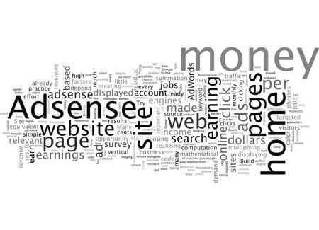 Adsense Lover, typography text art vector illustration