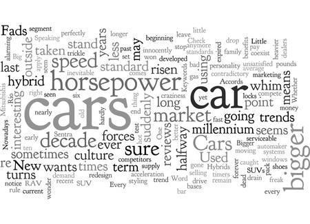 Auto trends Vektoros illusztráció
