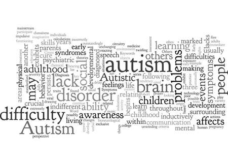 Autism Symptoms Detect Them Early 写真素材 - 132305096