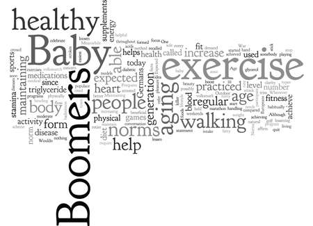 baby boomers age expected norms 版權商用圖片 - 132304245
