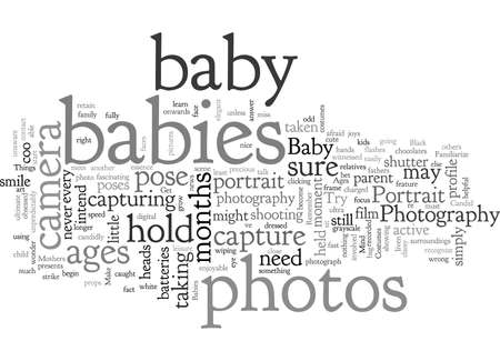 Baby Portrait Photography Ilustração