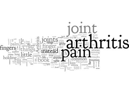 Arthritis Joint Pain Иллюстрация