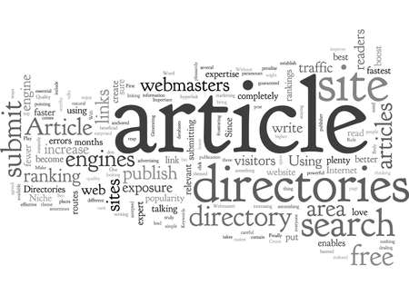 Article Directories Play An Important Role In Seo Strategy