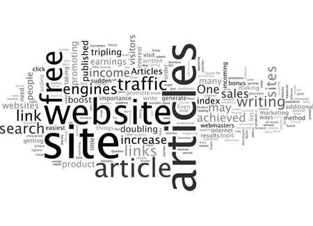 Artikelen zijn de snelste weg naar de portemonnee van uw klanten Vector Illustratie