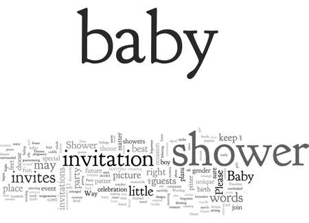Baby Shower Invitations Is Your Way The Right Way 일러스트