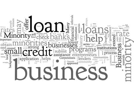 Business Loans For Minorities Get A Good Rate
