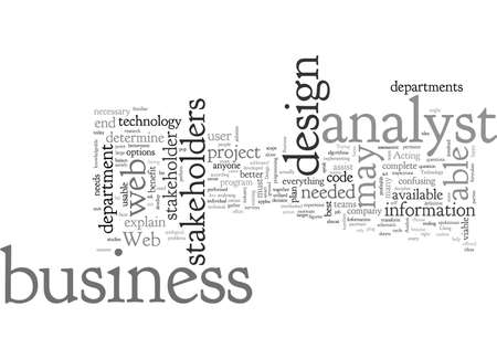 business analyst in web design