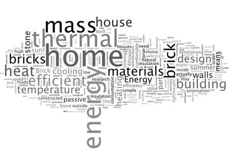 brick stone home energy efficient Illusztráció