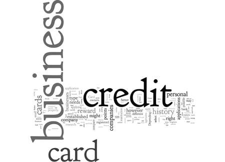Business Credit Card How to Find The Right Card