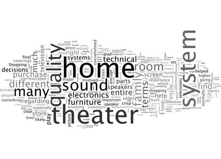 Buyer s Guide To Home Theater Systems Illustration