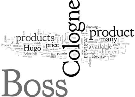 Boss Cologne Review