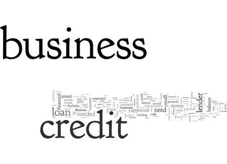 Il credito aziendale è una delle sue risorse chiave quando si tratta del suo successo Vettoriali