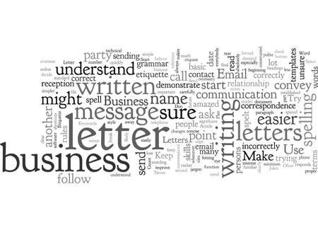 Business Letter Email Etiquette
