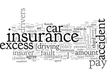 Car Insurance Save On Premiums Stock Illustratie