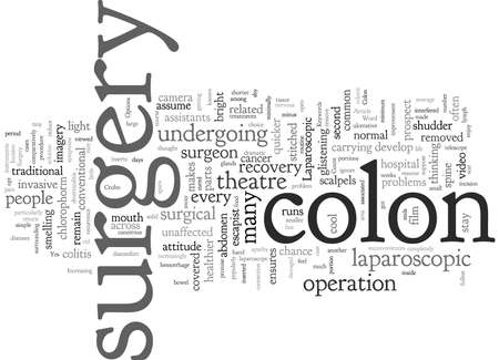 Colon Surgery What Are Your Options