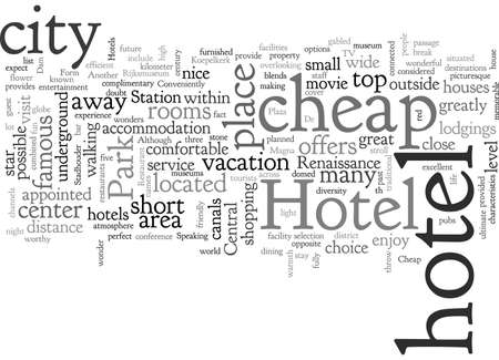 Cheap Hotels in Amsterdam Ilustração